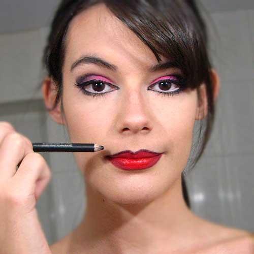 monika sanchez guapa al instante perfilador negro halloween