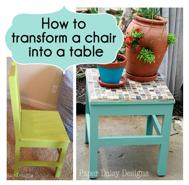 How To Transfrom a Chair Into a Table