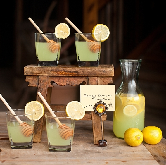 Quench Your Guests Thirst With Some Fun Honey Inspired Drinks Drizzle Sticks Give That Extra Frosted Touch
