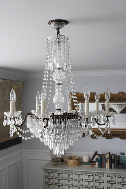 sometimes we find some decent deals on craigslist and then sometimes we find deals that make us absolutely squeal well mainly just me squeal - Schonbek Chandelier