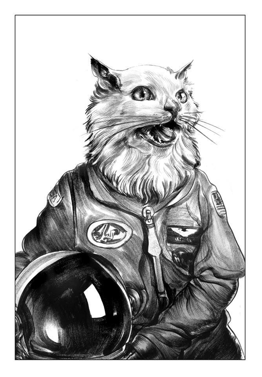 Cosmocat by Greg Ruth