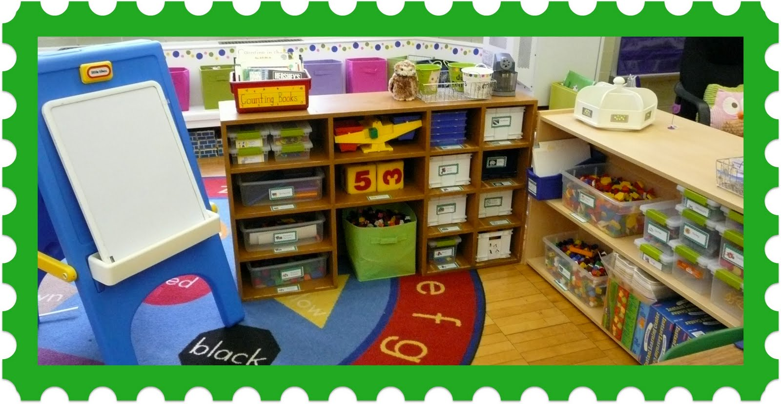 The Very Busy Kindergarten: Guided Math Chapter 5