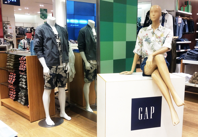 gap verano ropa hombres mujeres