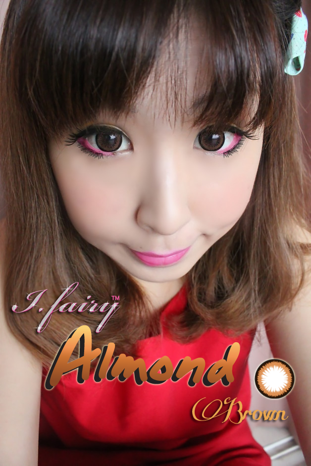 i.fairy almond brown circle lens review