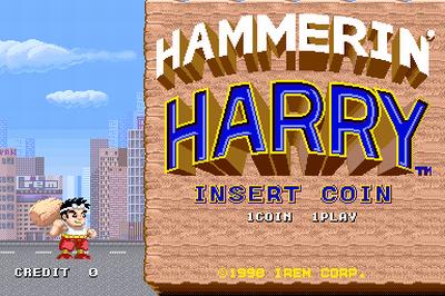 Este juego se llama Hammerin's Harry