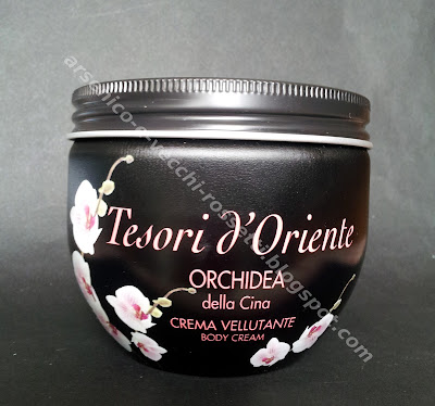 Tesori d'Oriente Crema corpo vellutante Orchidea della Cina
