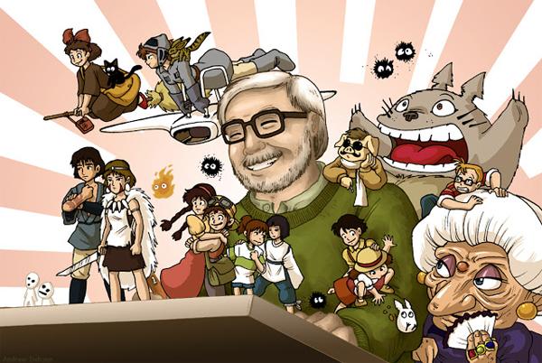 Hayao Miyazaki, alma máter de los Estudios Ghibli, se retira