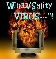 cara menghapus virus W32/sality