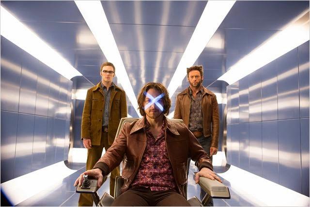 Bestia, Lobezno y Xavier en X-Men: Días del Futuro Pasado