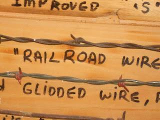 railroad barbed wire