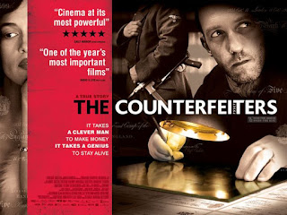 The Counterfeiters aka. Die Falscher - Poster