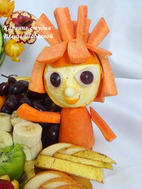 украшение сладкого стола южно-сахалинск карвинг фруктов