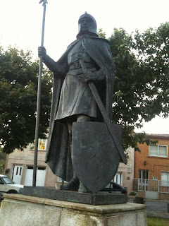 A Templar Knight Protecting Our Entrance To Santiago