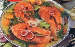 заливное из рыбы,рыбные блюда,рецепты рыбных блюд