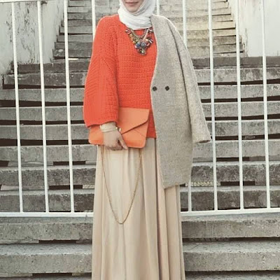 winter hijab outfit 2016