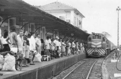 Estação Ferroviária em 1980 Ativa