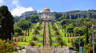 The Hanging Gardens of Haifa - Israel
