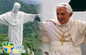 Mensaje del Papa Benedicto XVI para la jornada mundial de la juventud -Brasil - Río de Janeiro 2013