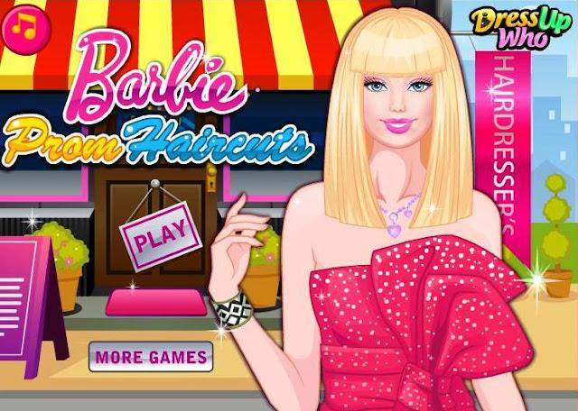 Barbie Haircut Games-Barbie Prom Haircut