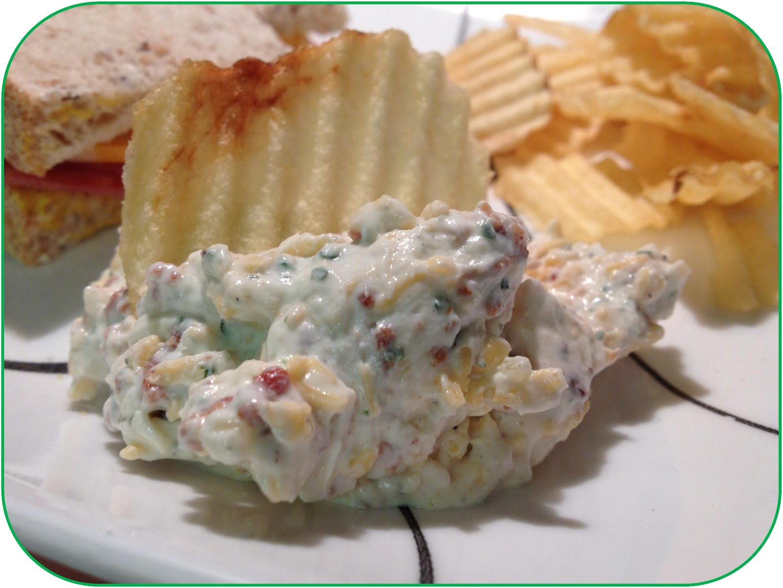 Random Bits: Loaded Baked Potato Dip {recipe}