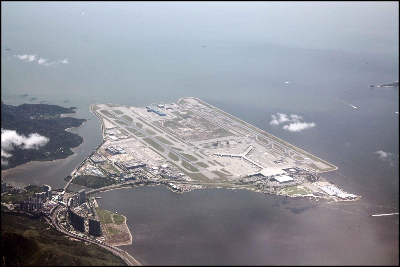 Hong Kong Airport Kai Tak Chek Lap Kok