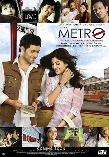 Life in a Metro (2007) Movie Poster