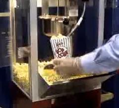 mesin pembuat popcorn
