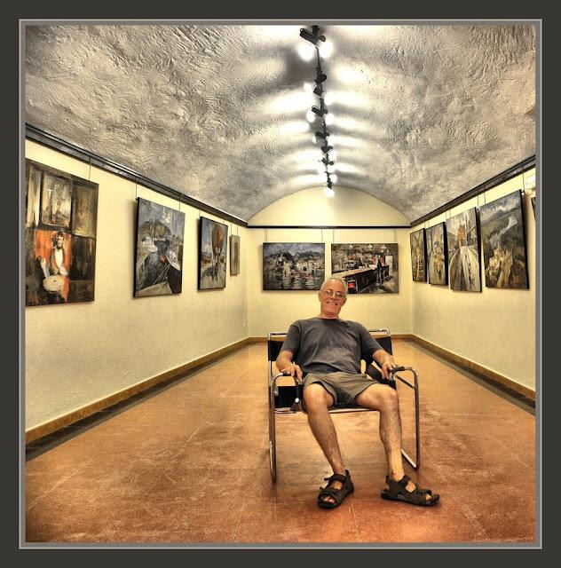 BEGUR-PINTURA-GIRONA-EXPOSICIONS-CENTRE CULTURAL-FOTOS-PINTOR-ERNEST DESCALS-