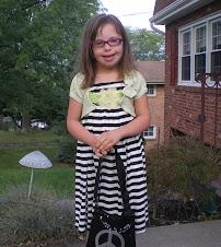 Chloe starts 3rd Grade - PRICELESS!
