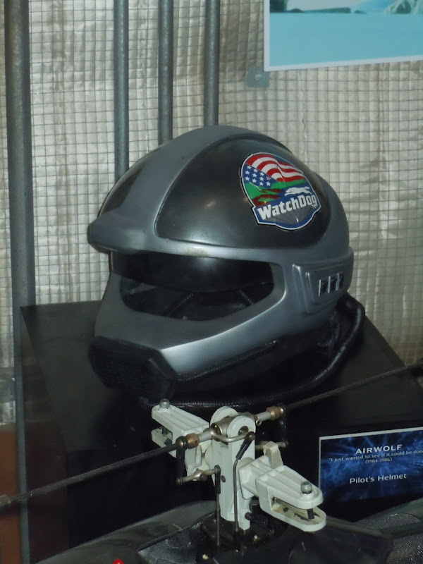 Airwolf TV show pilot helmet