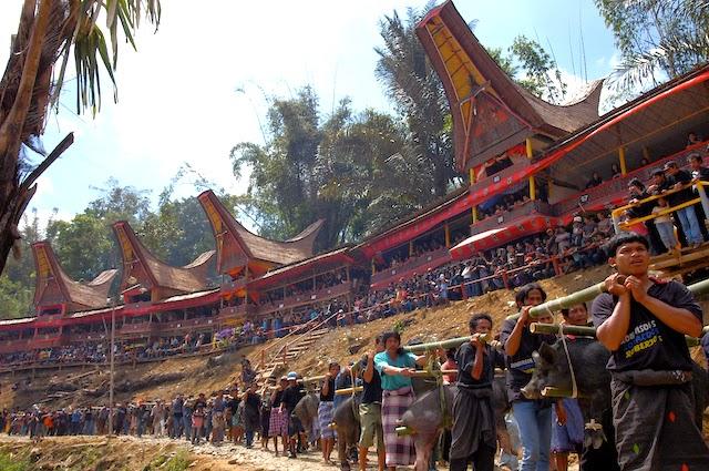 Rambu Solo: Ritual Pemakaman Orang Toraja