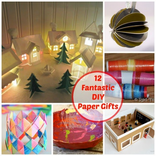 fantastic DIY paper gifts