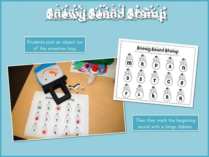 Mrs. Ricca\'s Kindergarten: Winter Math & Literacy Centers {Freebies}