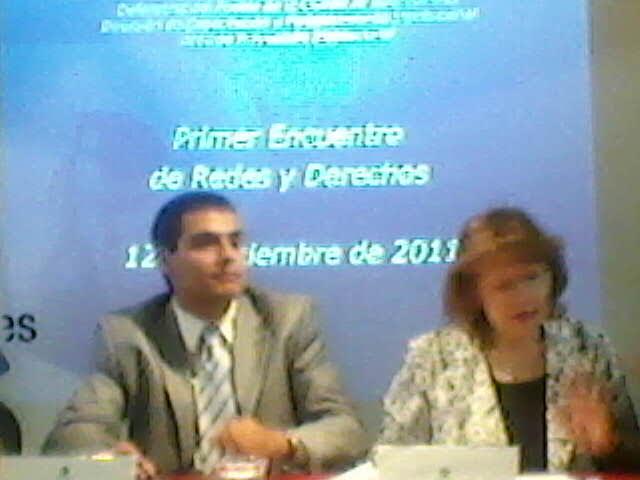 Defensoría del Pueblo: 1° Encuentro de Redes y Derechos, realizado el Lunes 12 de Diciembre 2011