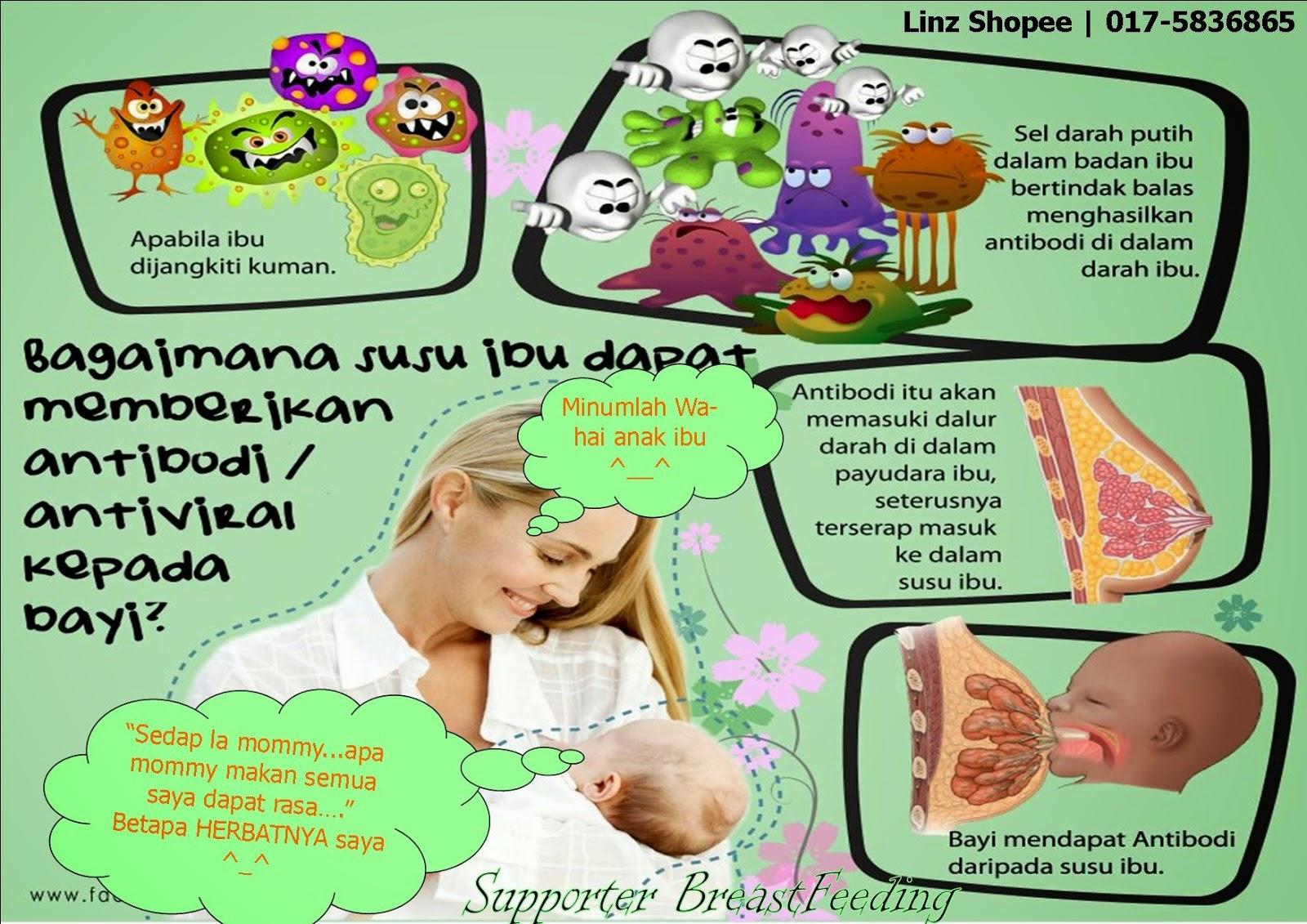 khasiat susu ibu