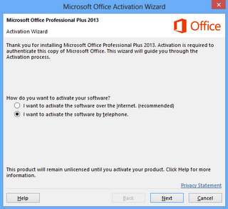 Cara Aktivasi Microsoft Office 2013 RTM - Key Update Daily