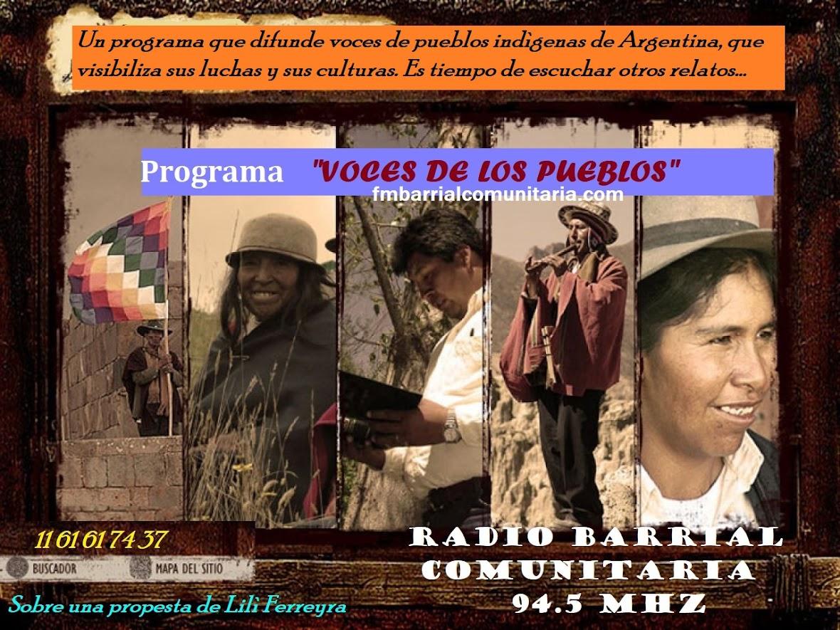 """""""Voces de los pueblos"""""""