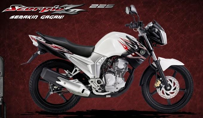 Yamaha New Scorpio Z Limited Edition Dijual Rp 25 juta
