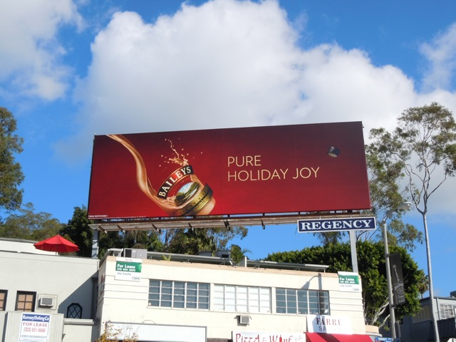 Baileys Holiday Joy billboard