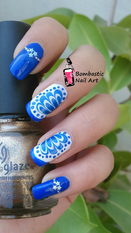 Nail Polish Suitable For Water Marble