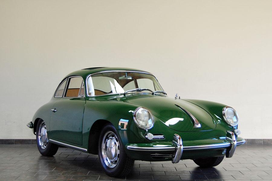 Classic Porsches 1964 Porsche 356 C Green