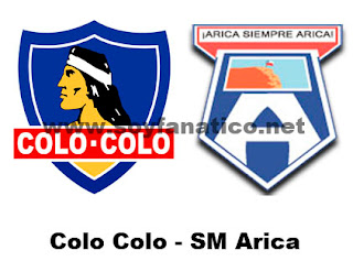 Colo Colo vs SM Arica 2013