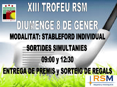 Torneig RSM a Portal del Roc P&P