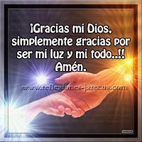Oración, Dios, gracias