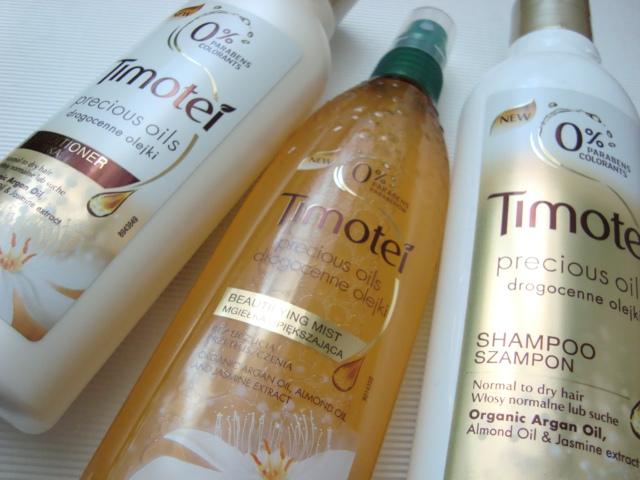 Timotei Precious Oil - Linia do włosów z drogocennymi olejkami