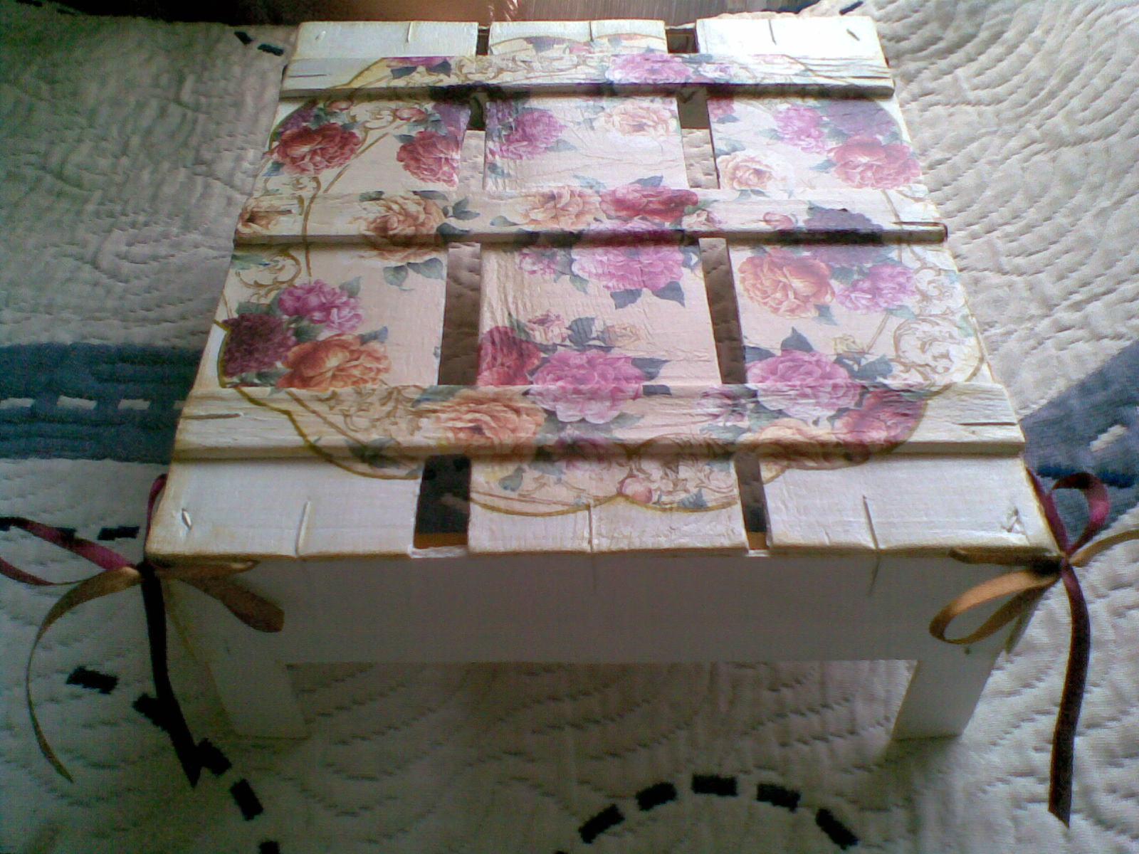 Декор ящика