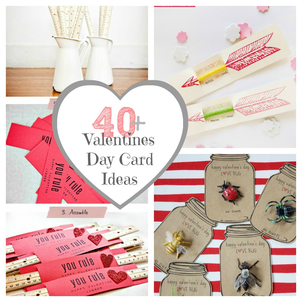 40 Valentines Day Card Ideas  Gifts for Classmates  The Crafted