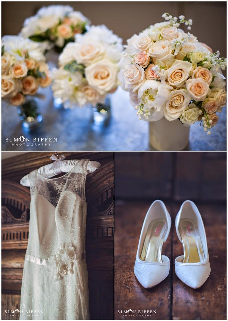 Bridal details preparations
