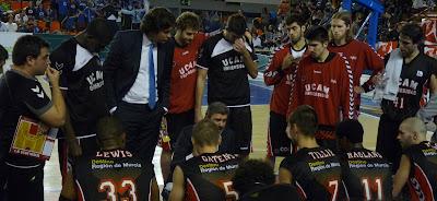 Una visión distinta del equipo visitante, en esta ocasión el Cajasol de Sevilla: