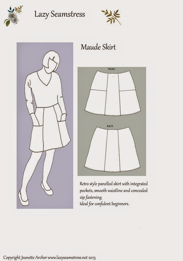 Maude Skirt Pattern